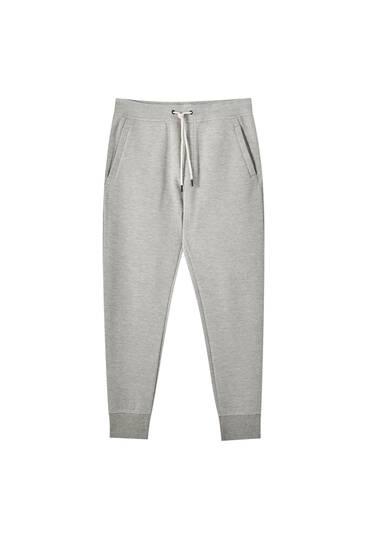 Pantalón jogger básico piqué