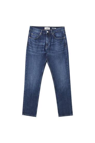 Τζιν παντελόνι regular comfort fit σε σκούρο μπλε χρώμα