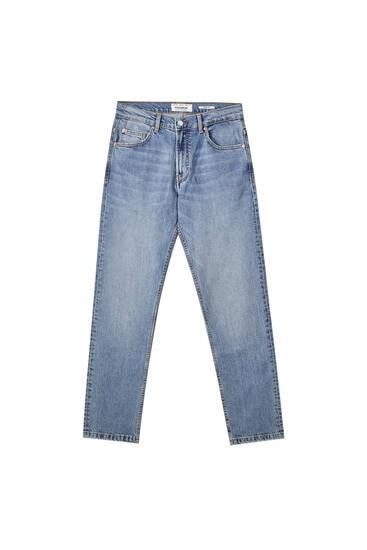 Τζιν παντελόνι basic comfort fit