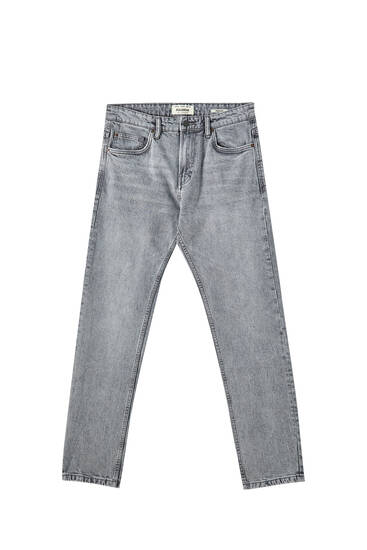 Regular comfort fit grey jeans