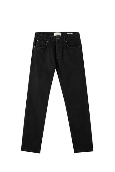 Jeans regular comfort fit negros