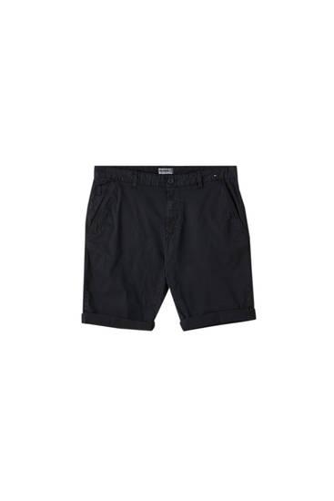 Basic chino-style Bermuda shorts