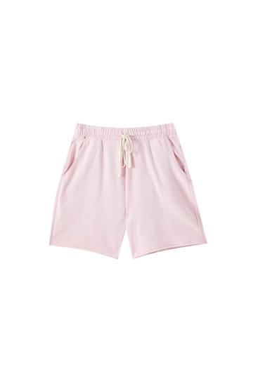 Bermuda de pants básica colores