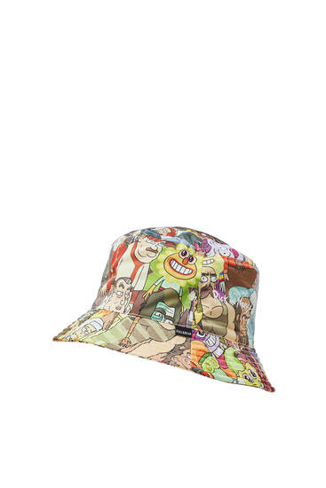 Gorro bucket Rick & Morty