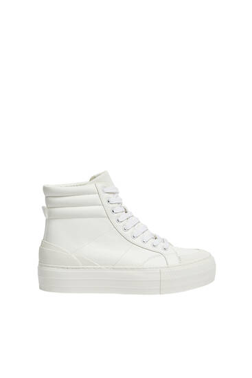 High top platform trainers