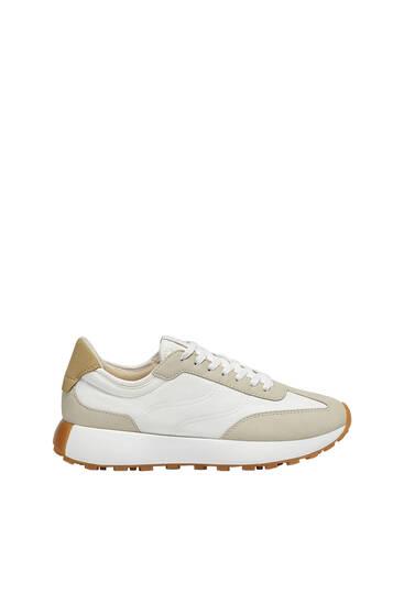 נעלי סניקרס משולבות