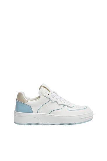 Gecombineerde sneaker