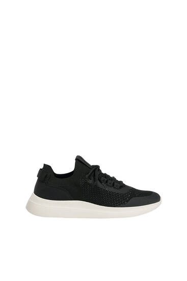 Knit fabric trainers