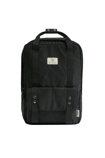 Backpack with pocket detail