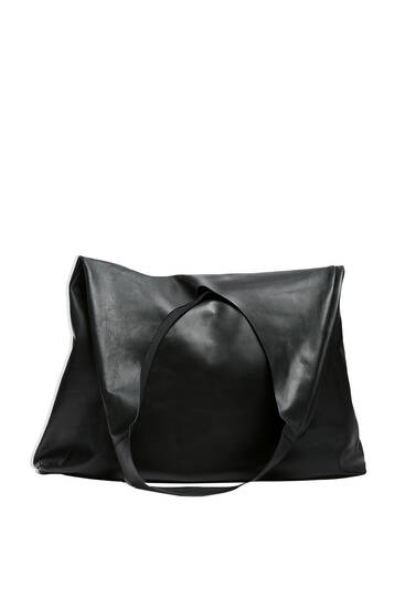 Leren XL shopper - Limited Edition