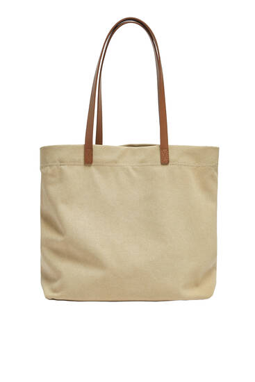 Fabric tote bag
