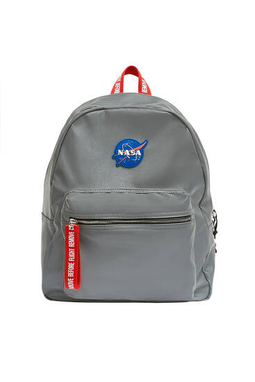 Reflective NASA backpack