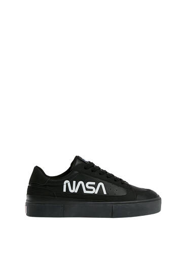 Monochrome NASA sneakers