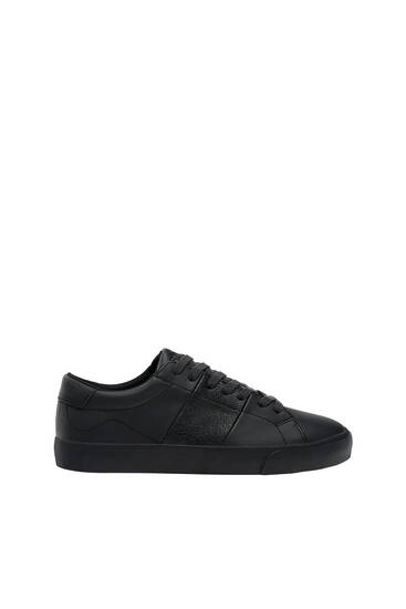 Casual monochrome trainers