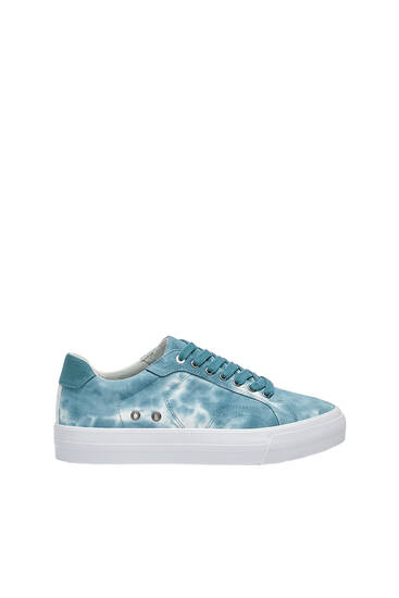 Casual tie-dye trainers