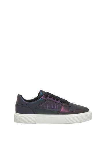 Casual iridescent trainers