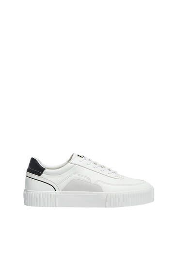 Casual raised sole trainers