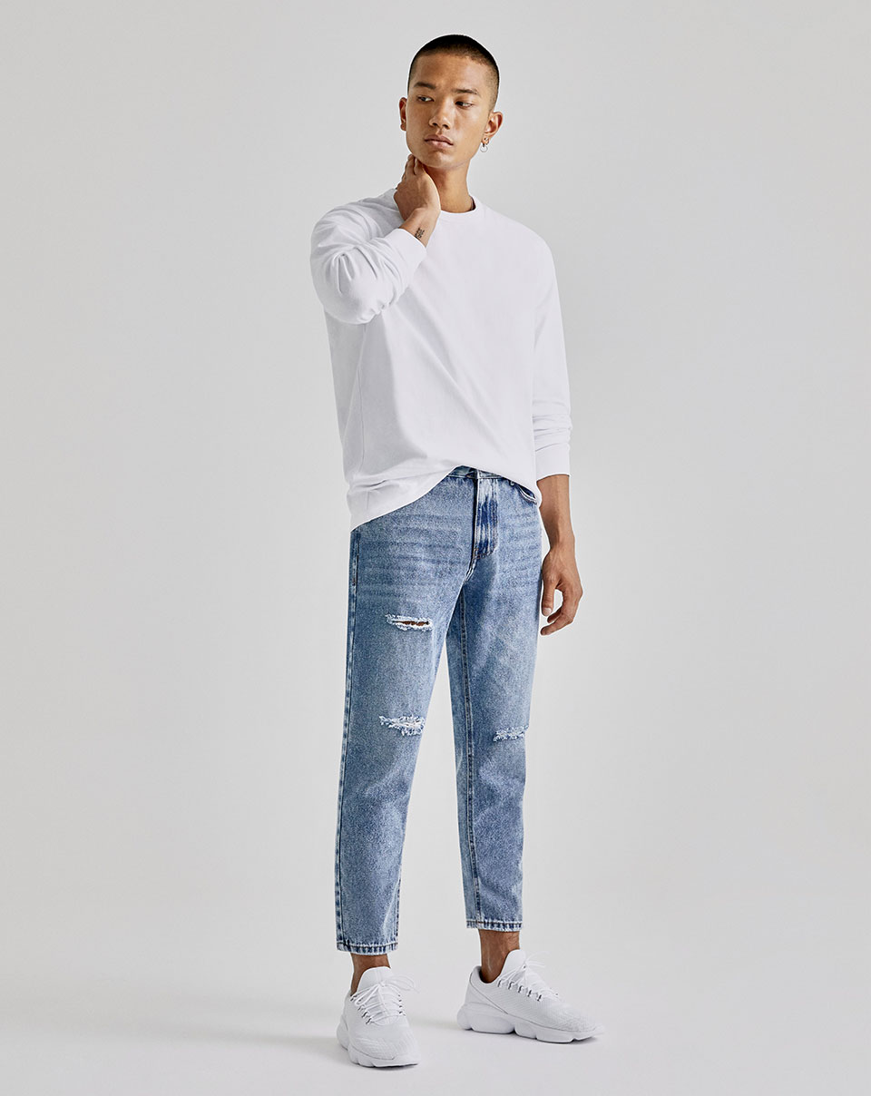 Jeans Fit Guide Denim Collection Man PULL&BEAR Pull