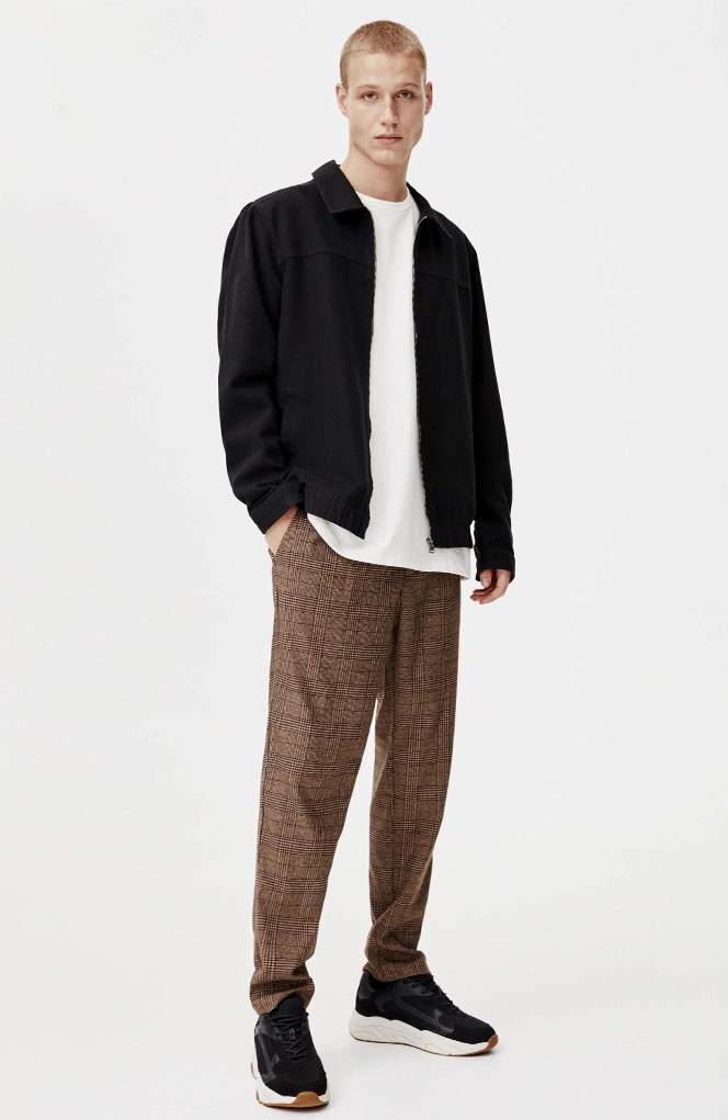 The Most Modern Plaid Clothing For Men Pull Bear