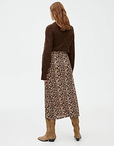 0211e4dc1476 В этом модном сезоне возвращается леопардовый принт в одежде.  Выразительный, с сильным характером, он вернулся, чтобы преобразить твой  образ осенью и зимой.