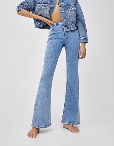 fa0a979017f18a Jeans - Clothing - Woman - PULL&BEAR Egypt