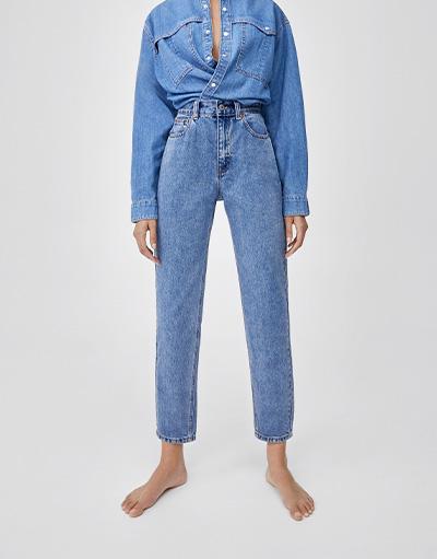 e6696c172bb3e3 Jeans - Kleidung - Damen - PULL&BEAR Deutschland
